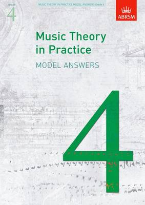Music Theory in Practice: Grade 4: Answers