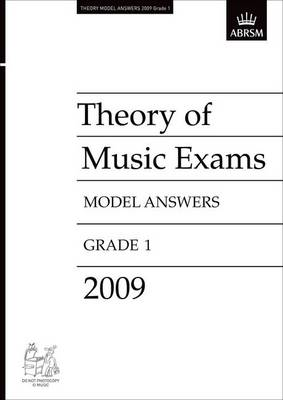 Theory of Music Exams Model Answers, Grade 1, 2009: Theory Answers