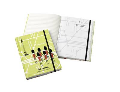 Lisa Stickly London Notebook with Pockets