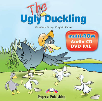 The Ugly Duckling Story Book Audio CD/DVD PAL