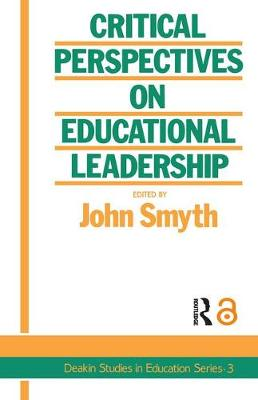Critical Perspectives On Educational Leadership