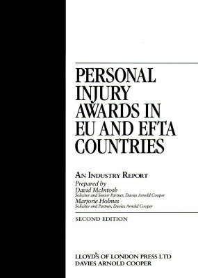 Personal Injury Awards in EU and EFTA Countries: An Industry Report