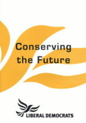 Conserving the Future: Proposals on Energy Policy