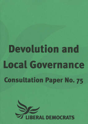 Devolution and Local Governance