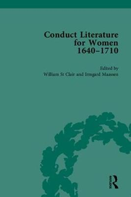 Conduct Literature for Women, Part II, 1640-1710