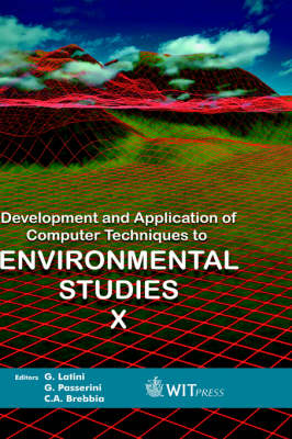 Development and Application of Computer Techniques to Environmental Studies: v. 10
