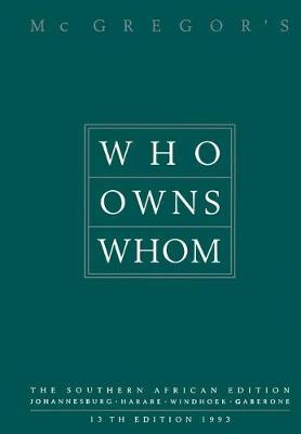 Who Owns Whom: The Southern African Edition