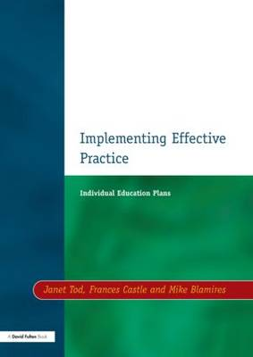 Individual Education Plans Implementing Effective Practice