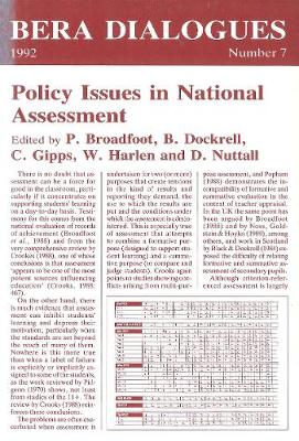 Policy Issues in National Assessment