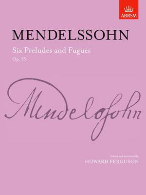 Six Preludes and Fugues, Op. 35