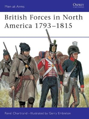 British Army in North America, 1793-1815