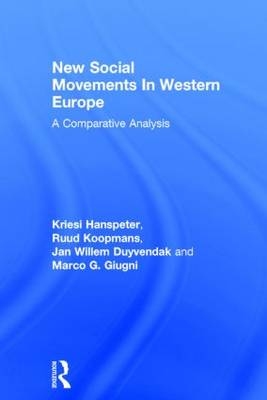 New Social Movements In Western Europe: A Comparative Analysis