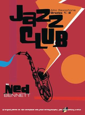 Jazz Club Alto Sax Grades 1-2 (+CD)