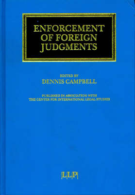 Enforcement of Foreign Judgements