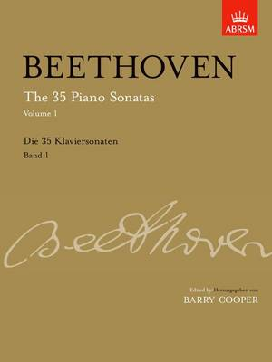 35 piano sonatas volume 1