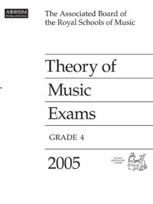 Theory of Music Exams: 2005: Grade 4