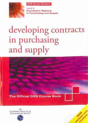 Developing Contracts in Purchasing and Supply