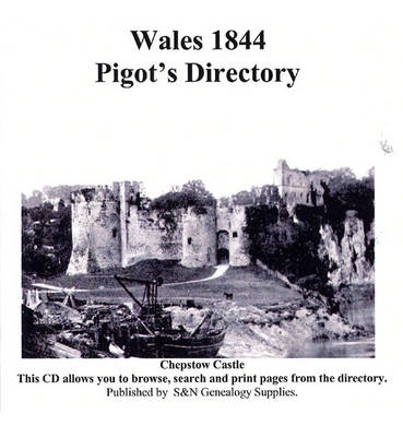 Wales 1844 Pigot's Directory