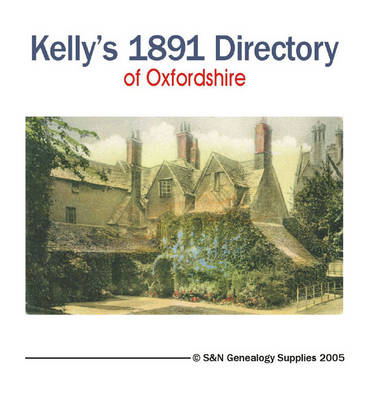 Oxfordshire 1891 Kelly's Directory