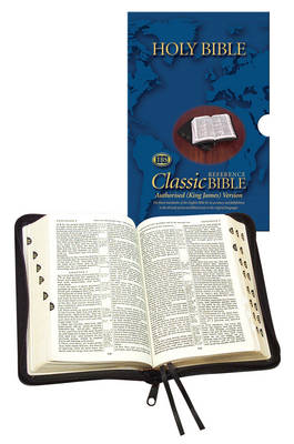 Holy Bible  - Classic  with Zip and Thumb Index: Calfskin Medium Sized Centre Reference: Authorised (King James) Version