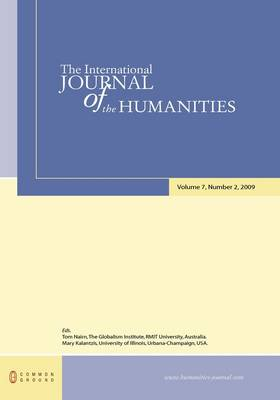 The International Journal of the Humanities: Volume 7, Number 2