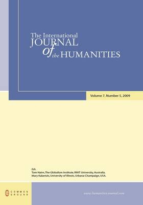 The International Journal of the Humanities: Volume 7, Number 5