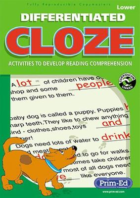 Differentiated Cloze: Activities to Develop Reading Comprehension: Lower