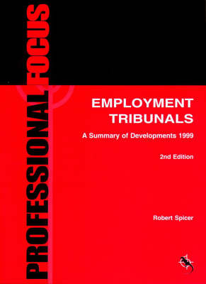 Employment Tribunals: A Summary of Developments