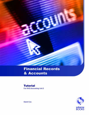 Financial Records and Accounts Tutorial