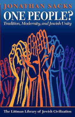 One People?: Tradition, Modernity, and Jewish Unity