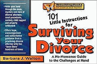 101 Little Instructions for Surviving Your Divorce: A No-Nonsense Guide to the Challenges at Hand