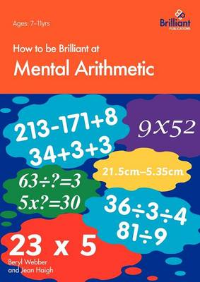 How to be Brilliant at Mental Arithmetic