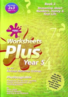 Worksheets Plus for the National Numeracy Strategy Year 5: Book 3: Solving Problems