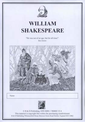 Photocopiable Teaching Resources/Author Pack for 'Shakespeare'