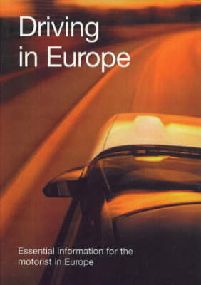 Spencer's Driving in Europe