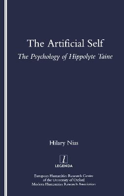 The Artificial Self: The Psychology of Hippolyte Taine