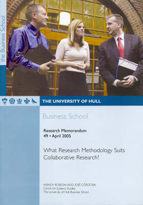 What Research Methodology Suits Collaborative Research?