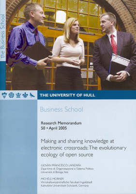 Making and Sharing Knowledge at Electronic Crossroads: The Evolutionary Ecology of Open Source