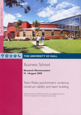 Team Roles: Psychometric Evidence, Construct Validity and Team Building