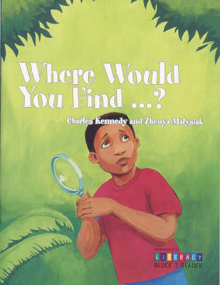 Where Would You Find...?:  Block 3 Reader