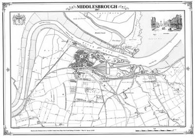 Middlesbrough 1857 Map