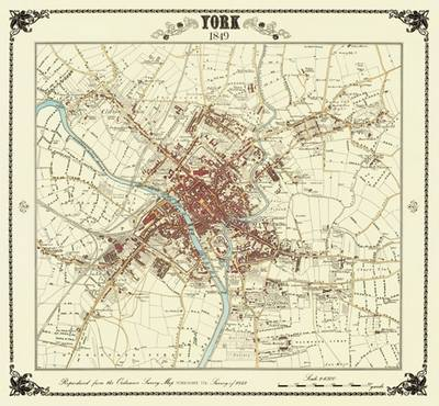 York 1849 Coloured