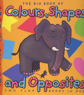 Double Delights: Big Book of Colours, Shapes and Opposites