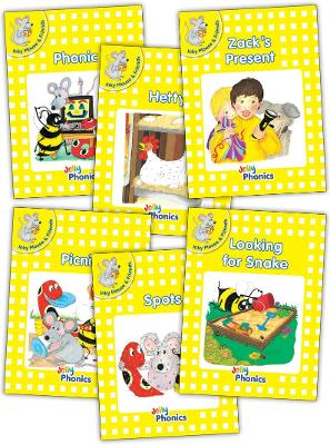 Jolly Phonics Readers, Inky & Friends, Level 2: in Precursive Letters (British English edition)