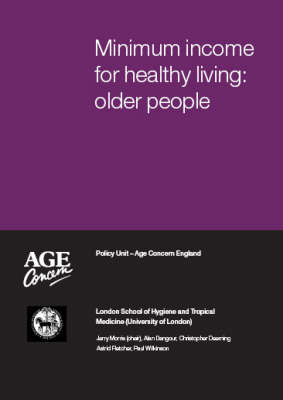 Minimum Income for Healthy Living: Older People
