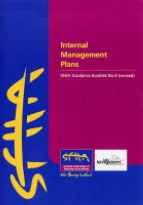Internal Management Plans: SFHA Guidance Booklet: No.9