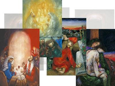 Folly of God - The Journey of the Cross, A Path to Light Poster Set