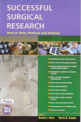 Successful Surgical Research: How to Plan, Perform and Publish
