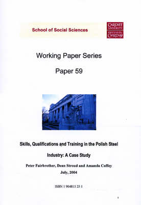 Skills, Qualifications and Training in the Polish Steel Industry: A Case Study