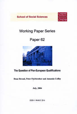 The Question of Pan-European Qualifications